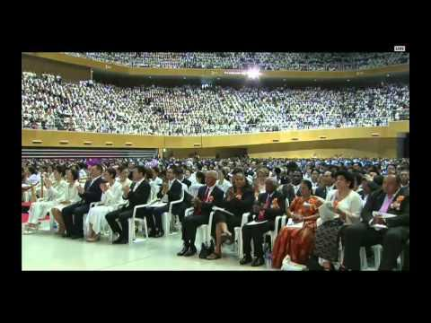 The Third Universal Seonghwa Memorial Of Sun Myung Moon - 30 AGOSTO 2015