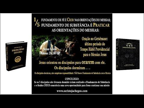 Fundamento De Fé E Fundamento De Substância Centrados No Cristo Do Segundo Advento